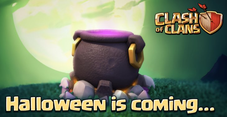 Clash Of Clans Halloween is coming