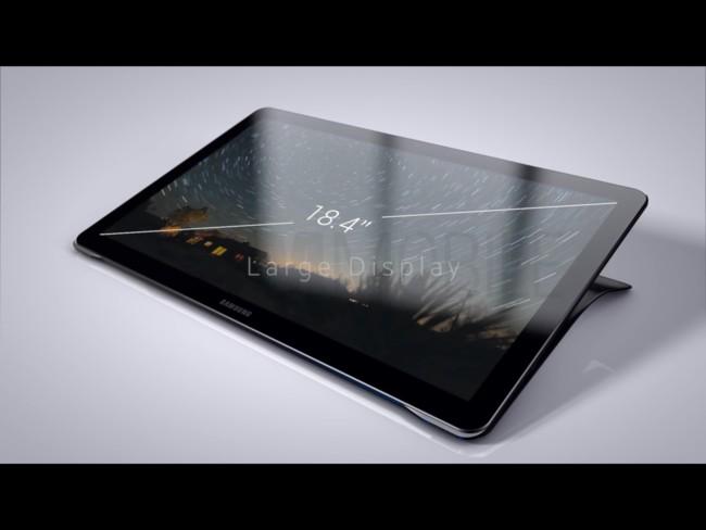Samsung Galaxy View caracteristicas