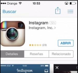 crear instagram paso 2