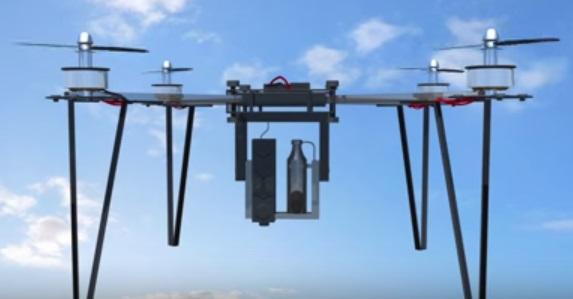 Drones que plantan árboles