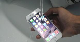 iPhone 6S es resistente al agua