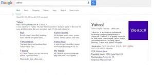 Yahoo mostrará resultados de google