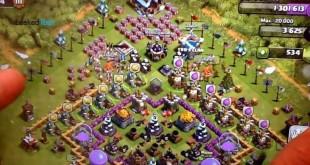 Actualizaciones de navidad en Clash of Clans