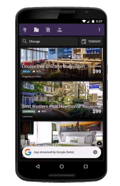 Google ahora muestra resultados de apps sin tenerlas instaladas