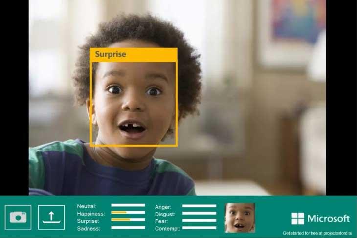 Microsoft permite identificar sentimientos