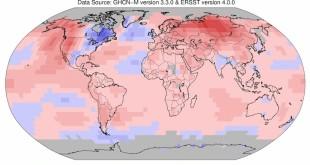 el efecto extremo del cambio climático con temperaturas record