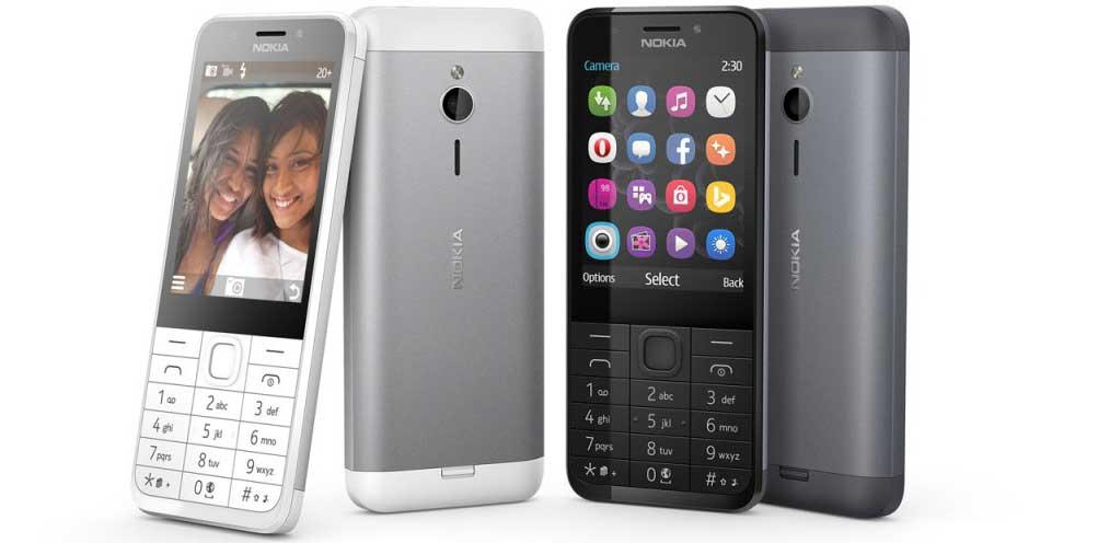 celular Nokia 230 super barato