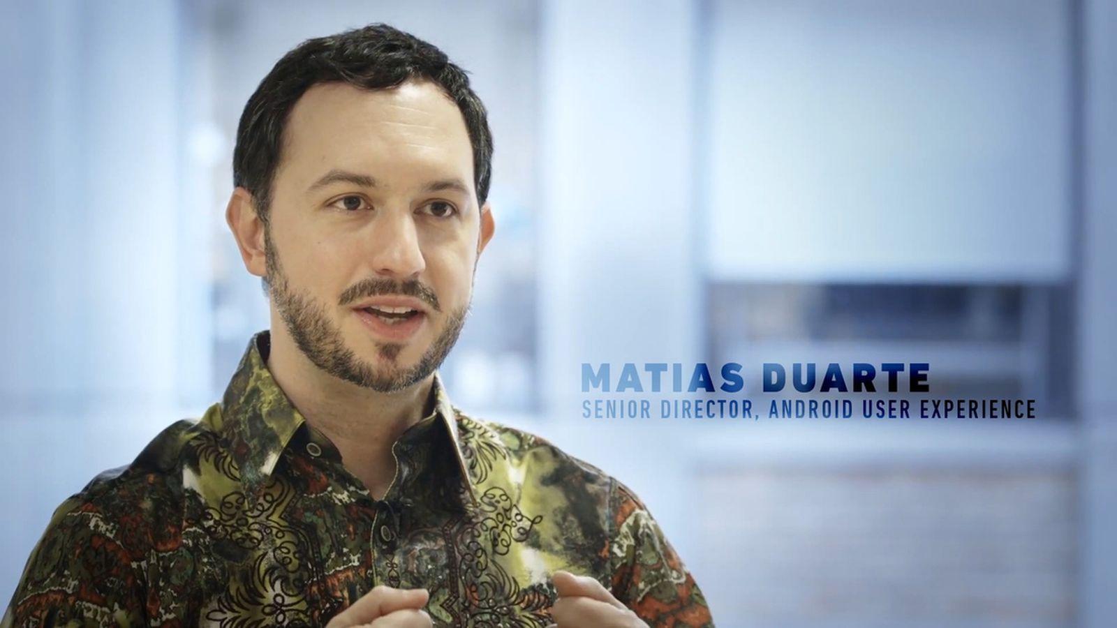 Matías Duarte Google