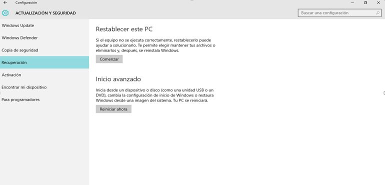 borrar programas de Windows 10