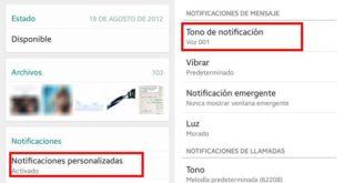 Cómo personalizar las notificaciones de WhatsApp en Android