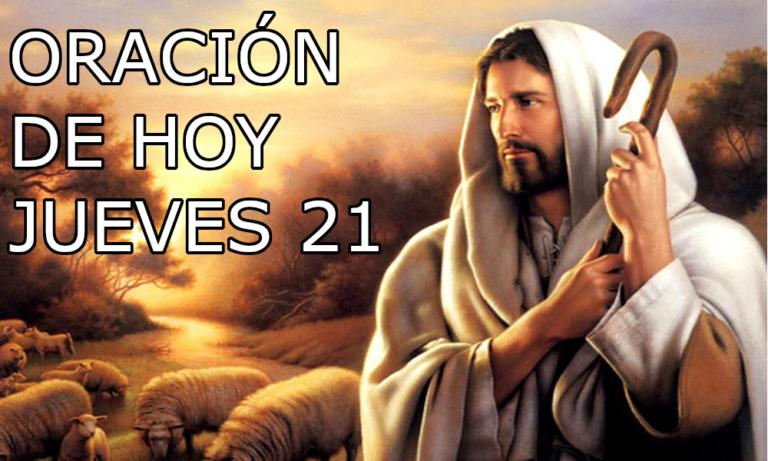 Oración de la mañana para el día 21 de enero del 2021