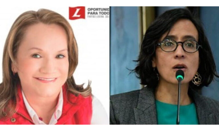 Concejal Gordillo es grosera con Susana Muhamad