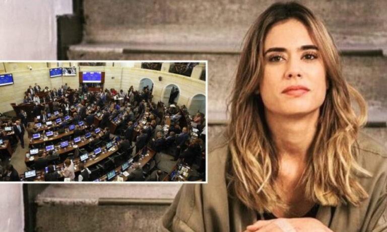Carolina Ramirez: «Venga uno ve el noticiero del Senado y uno esta es en Suiza oiga!»