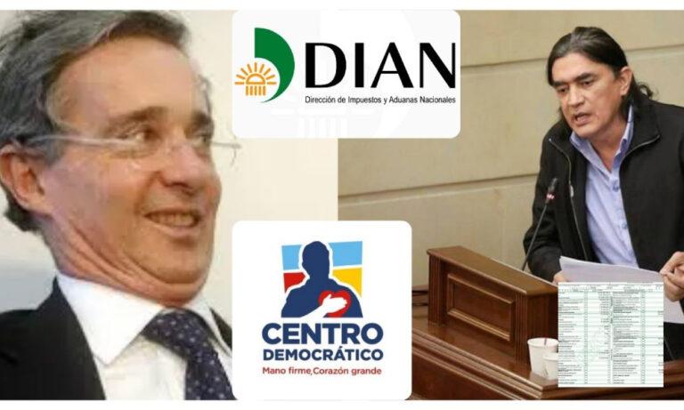 Injustαmente Bolívar pagα más renta en un año que toda la vidα de Uribe y el Centro Democrático juntos